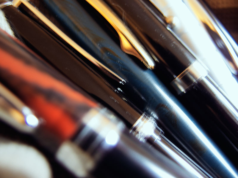 writing utensils fountain pen stationery blog first post