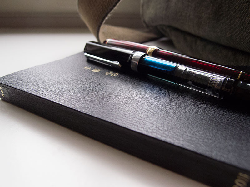 hobonichi-fountainpen-size