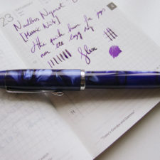 Noodler's Neponset Semi-Flex Music Nib Fountain Pen Review