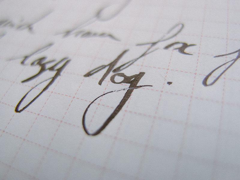 stub-nib-cursive