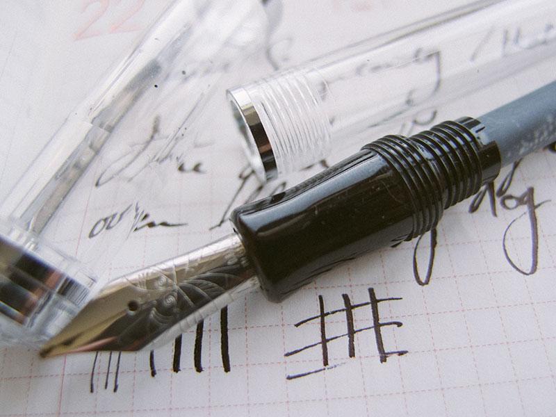 Nemosine Singularity 0.8mm Stub Fountain Pen Review