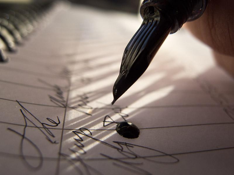 Penmanship-leaky-pen